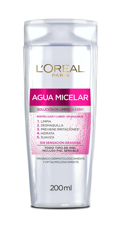 En un solo paso el Agua Micelar limpia y remueve eficazmente el maquillaje del rostro, ojos y labios, sin enjuagar y sin sensación grasosa. Incluso para piel sensible. #MicelarYYa