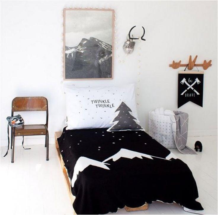 10 Chambres Du0027enfants Au Look Black U0026 White   Frenchy Fancy