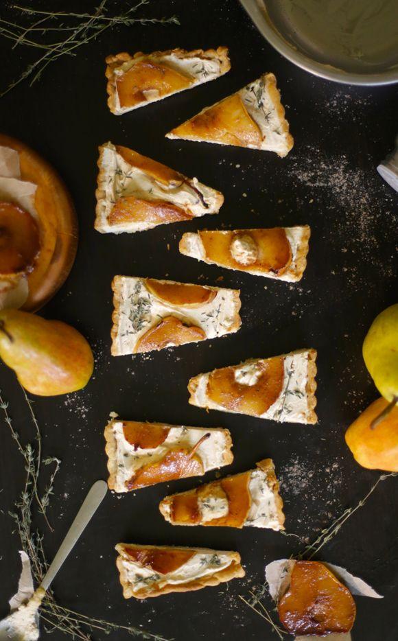 Pear & Cardamom Tart   Free People Blog #freepeople