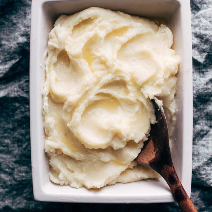 These Instant Pot Mashed Potatoes are so creamy, so fluffy, and SO GOOD. From start to finish in 30 minutes, all in one pot!
