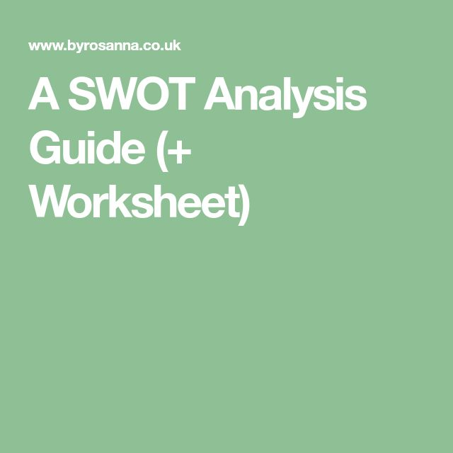 The  Best Swot Analysis Ideas On   Swot Analysis