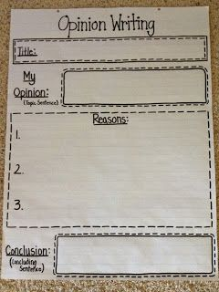 Mrs. Terhune's First Grade Site!: Search results for Opinion writing