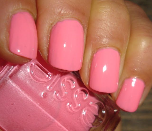 """Essie - """"Knockout Pout"""" perfect pink.Summer Toe, Nails Colors, Spring Colors, Pink Colors, Pink Nails, Colors Nails, Nails Polish, Summer Colors, Knockout Pout"""
