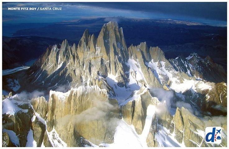 #SantaCruz -  Argentina --> Monte Fitz Roy.