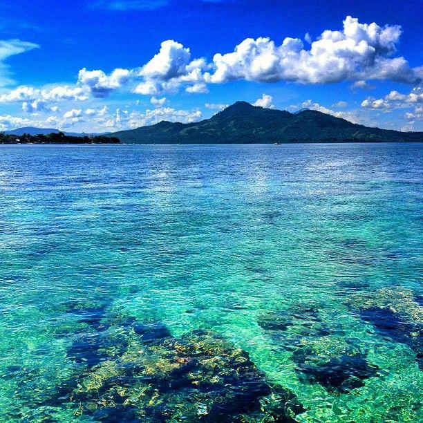 Bunaken National Maritime Park in Manado, Sulawesi Utara