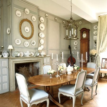 Vintage Dining Room Designs With Modern Victorian Dining Set · French  Dining RoomsCountry ...