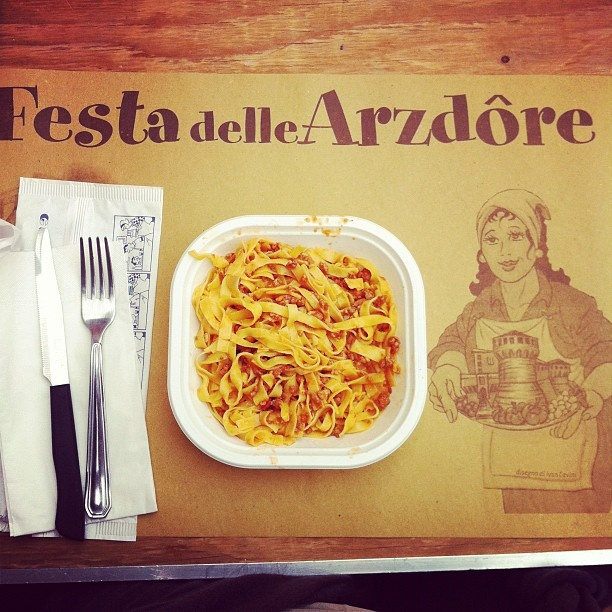 Festa delle Arzdore.. tagliatelle for you all!