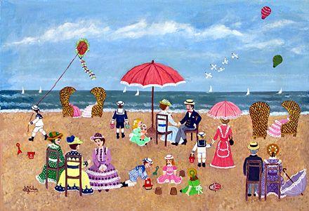 The Beach by Maria Julia Fraile