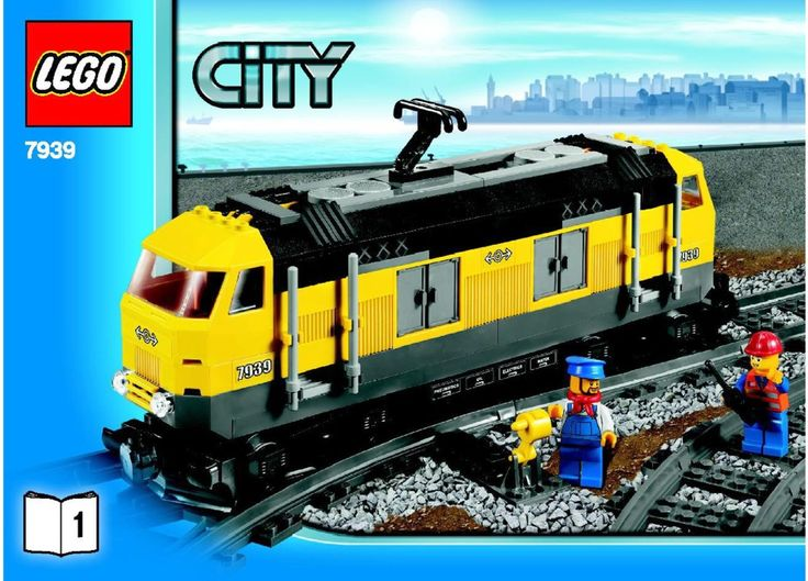 City - Cargo Train  [Lego 7939]