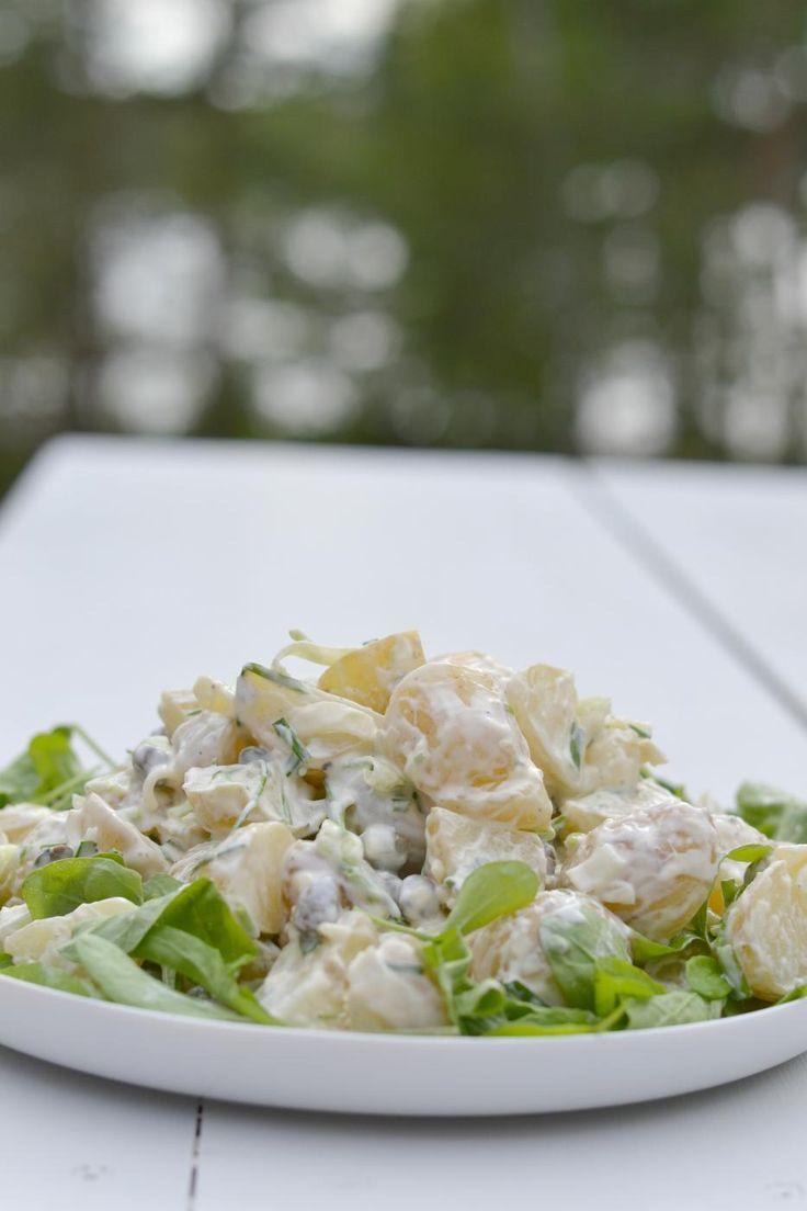 Suomalaiset uudet perunat saapuivat sopivasti kauppoihin ennen keskikesän suurta juhlaa Juhannusta.