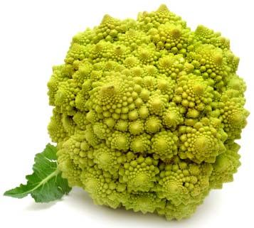 Veggie you've probably never heard of: Romanesco broccoli. It's a very versatile veggie with a mild, sweet taste. Try it steamed or boiled!