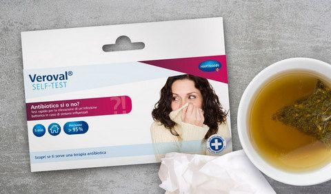 Selftest Veroval Antibiotico, in pochi minuti autodiagnosi a casa