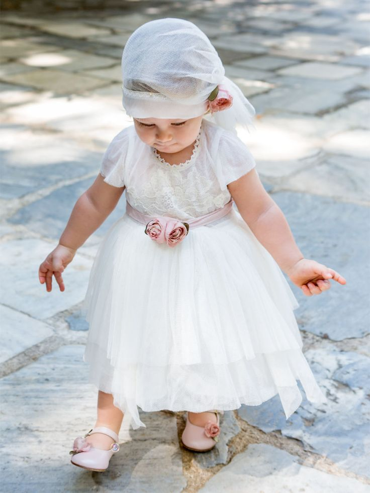 des.#berenice  Lace baby dress with handmade silk flowers #babydress #βαπτιστικό για #κορίτσι #vaptisi #βάπτιση #designerscat #βαπτισηκοριτσιού #βαπτιστικά #christening for #girl, design by #alexandralati, #kindsfashion #luxurydress  http://www.catinthehat.gr/gia-koritsi/winter-collection-koritsia/berenice-el.html