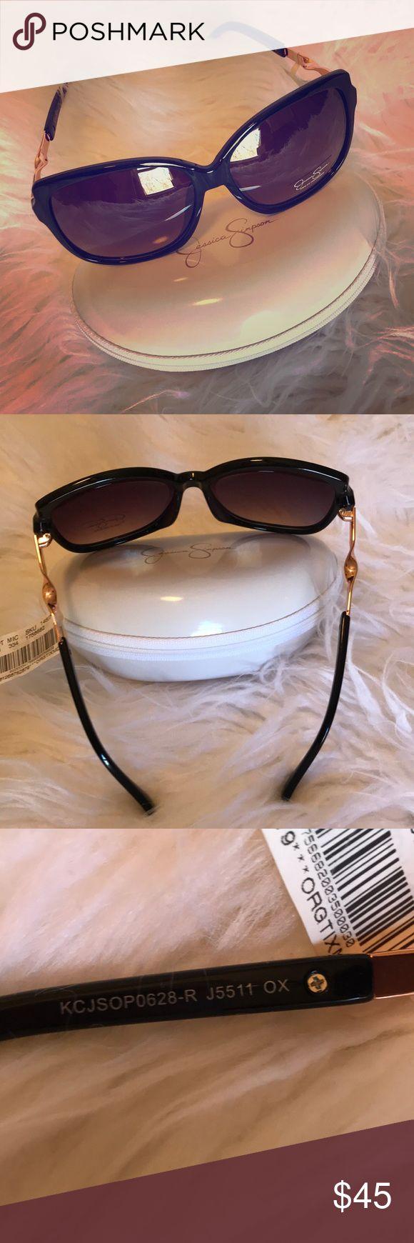 NWT Jessica Simpson Oversized Sunglasses Black NWT Jessica Simpson Oversized Sunglasses Black Gradient Jessica Simpson Accessories Sunglasses