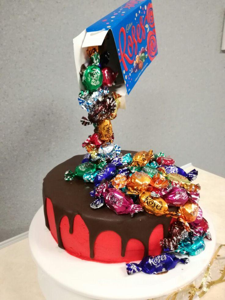 Cadbury Roses Cake
