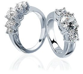5 stone engagement ring - Google Search