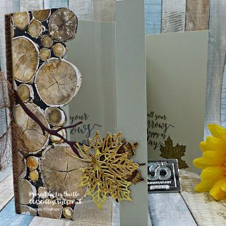 Inspire.Create.Challenge 015 - Masculine Cards - Wood Textures and Colorful Seasons