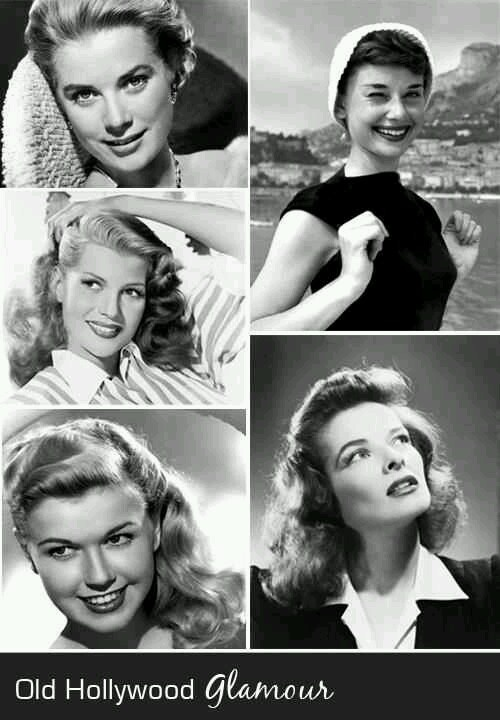 : Cathy Deyes, Rita Hayworth, Bombshells Bachelorette, Bachelorette Parties, Deco Ideas, Glam Bombshells, Audrey Hepburn, Diy Deco, Old Hollywood Glamour
