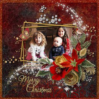 RAK for a friend Ekaterina & her children ♥  freebie Elegant Season by Rosie Designs