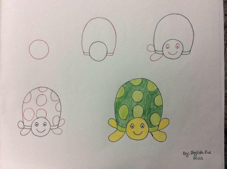 number base fun drawings for kids