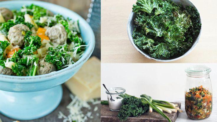 Spis grønnkålen når den er best