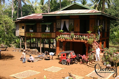 Philippine Ancestral Home (Mostly In Visayan And Luzon