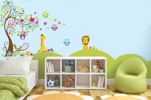 17 mejores ideas sobre pegatinas de pared rbol en for Pegatinas decoracion bebe