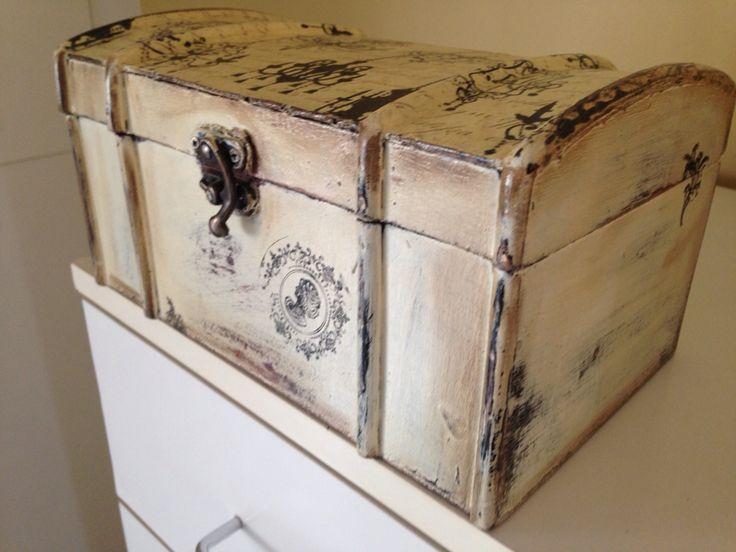A wine box