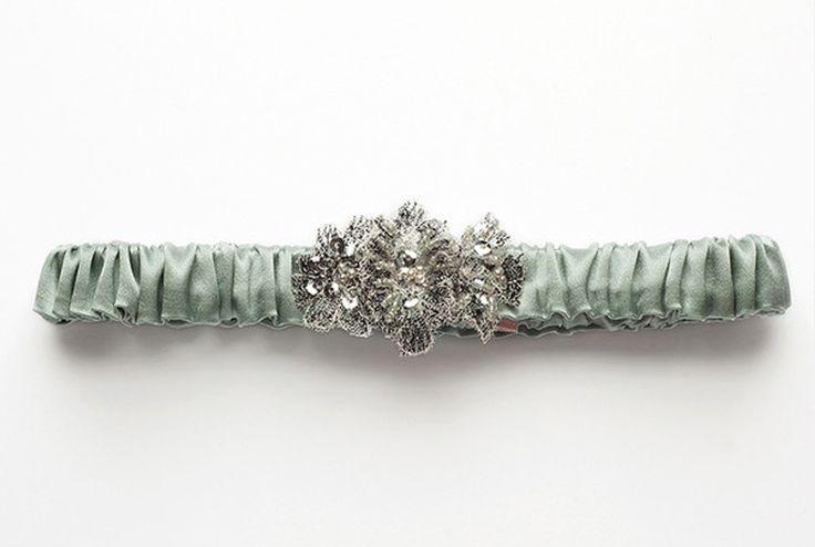 Anais bridal garter, from Fletcher & Grace – $75.00