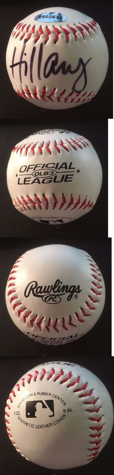 Hillary Clinton: Hillary Rodham Clinton - Hand Signed Official League Baseball - Coa And Holo -> BUY IT NOW ONLY: $49.99 on eBay!