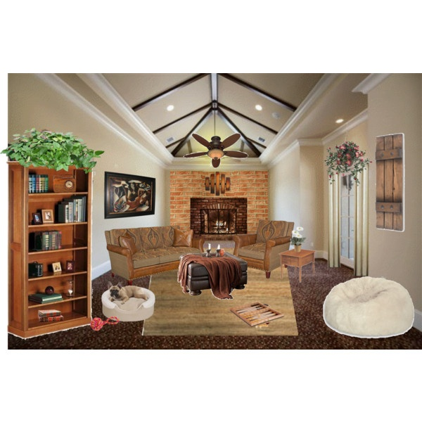 Cozy Den, created by aehodges on Polyvore: Cozy Dennings
