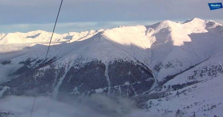 Der erste Schnee, Vorfreude auf den Skiurlaub in Nauders am Reschenpass