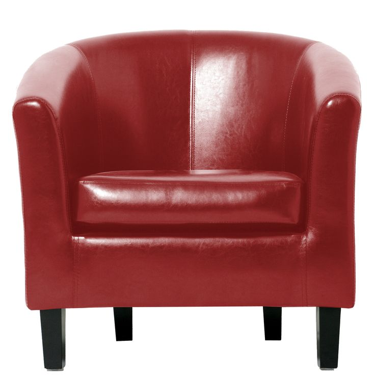 I love this Red Tub Chair from Pallucci Furniture @palluccisofas