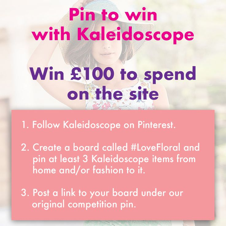 Enter our #LoveFloral Competition   Make sure you post a link to your board in the comments below