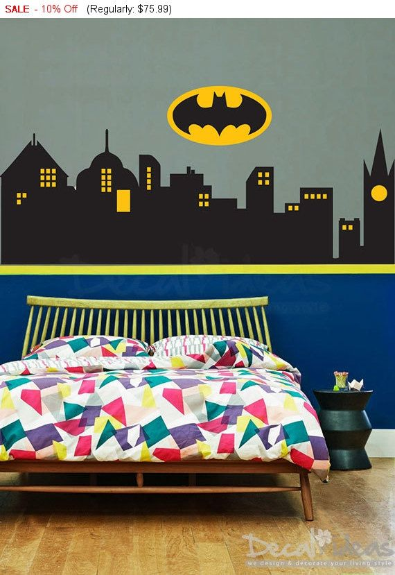 61 best justice league bedroom images on pinterest for Room decor justice