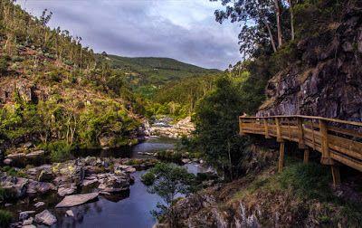 Cátia Cardoso : O passadiço que te levou ao amor foi o do rio Paiv...