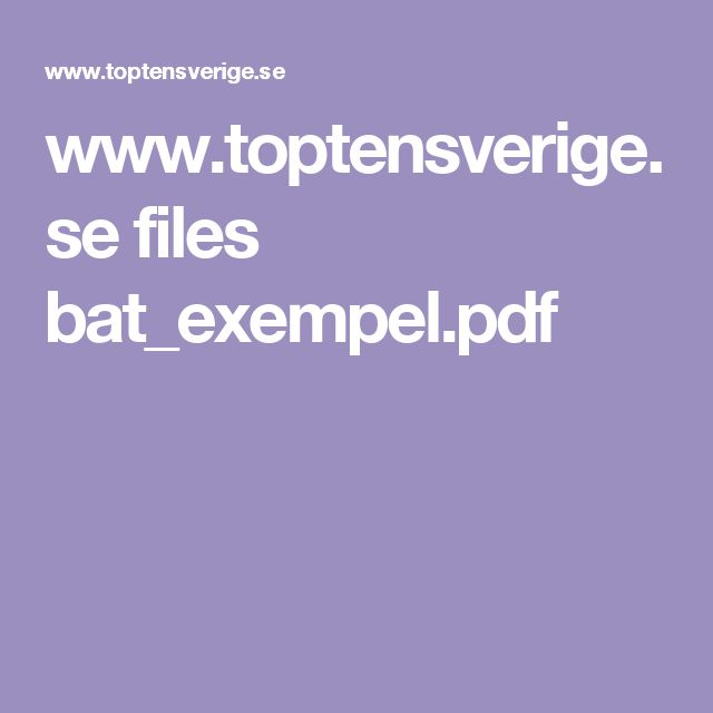 www.toptensverige.se files bat_exempel.pdf