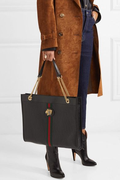 242eb75dc596 Gucci | Rajah large embellished leather tote | NET-A-PORTER.COM ...