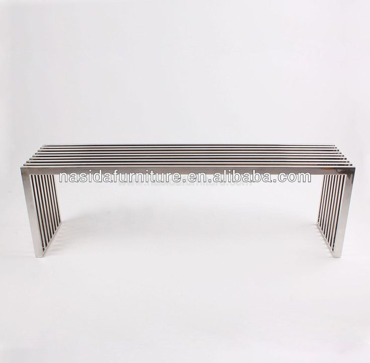 CH206 Amici Stainless Steel Bench, View Steel Bench, Nasida Product Details from Shenzhen Nasida Furniture Company Limited on Alibaba.com