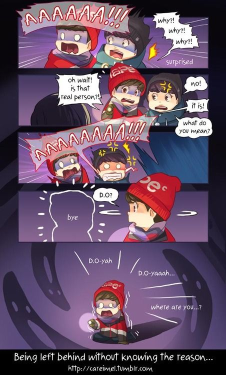 Luhan Kyungsoo Exo´s Showtime- hahaha! This was the funniest part of the episode xD