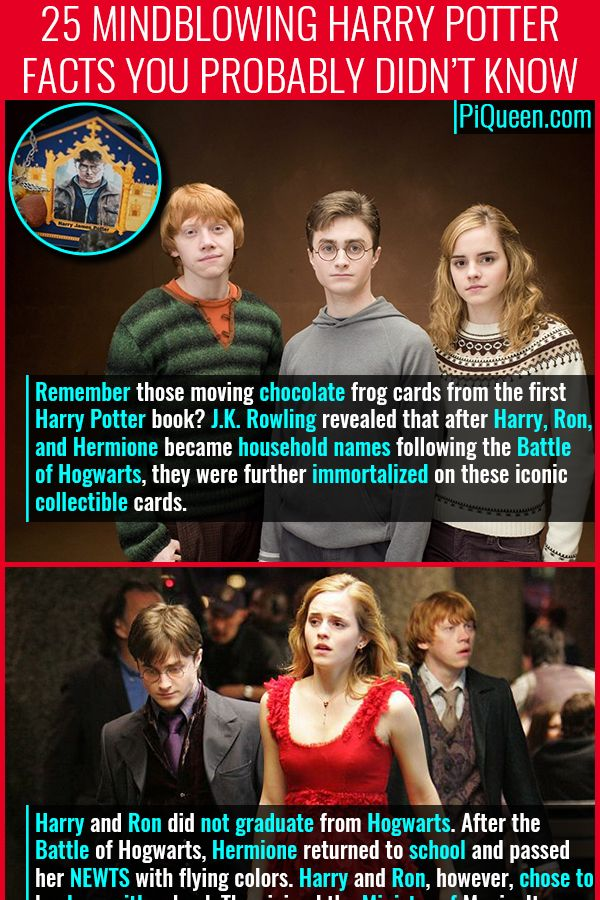 25 Mindblowing Harry Potter Facts You Probably Didn T Know Potter Facts Harry Potter Facts First Harry Potter
