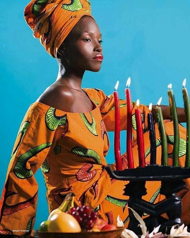 This year marks the 50th Anniversary of the celebration of #Kwanzaa. What does Kwanzaa mean to you? How long have your celebrated? What is your favorite principle?  from interview I had with Boca Raton Observer about my celebration of Kwanzaa