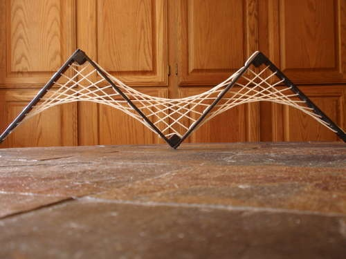 More string art + sculpture DIY