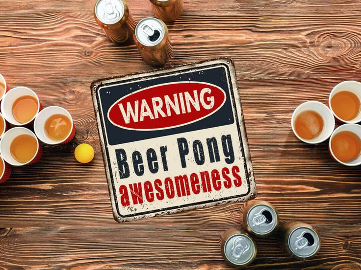 The Best Beer Pong Tables for your Drinking Game Party! Browse Floating Beer Pong Sets, Giant Pong, Mini Tables, Racks, and Beer Pong Drinking Game Sets!