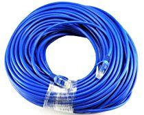 Importer520 BLUE 150FT CAT5 RJ45 PATCH ETHERNET NETWORK CABLE 150' For PC, Mac, Laptop, PS2, PS3, XBox, and XBox 360 to hook up on high speed internet from DSL or Cable internet.