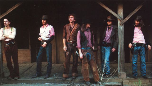 Outtake from the Desperado cover joined by Jackson Browne and J D Souther