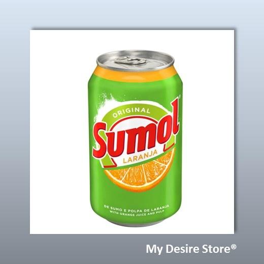 "Original Sumol®, with orange juice and pulp....Bo's mountain dew ""replacement"" overseas :)"