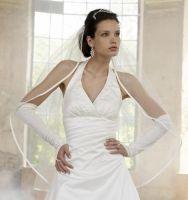 Brudekjole med halterneck 08-3109 ABELONE.NO Brudesalong & Nettbutikk