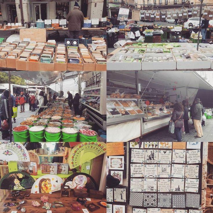el mercado local en Segovia España #beunambiente #mercado #Segovia