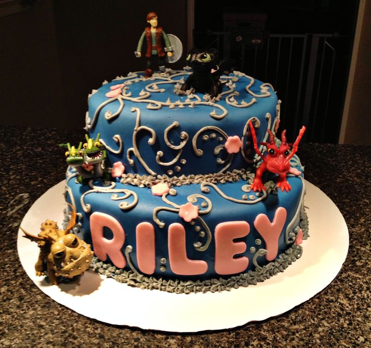 How To Train Your Dragon Cakes Uk